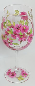 wine glass painting tucson