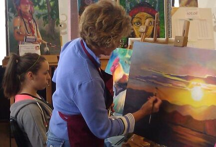 painting class tucson